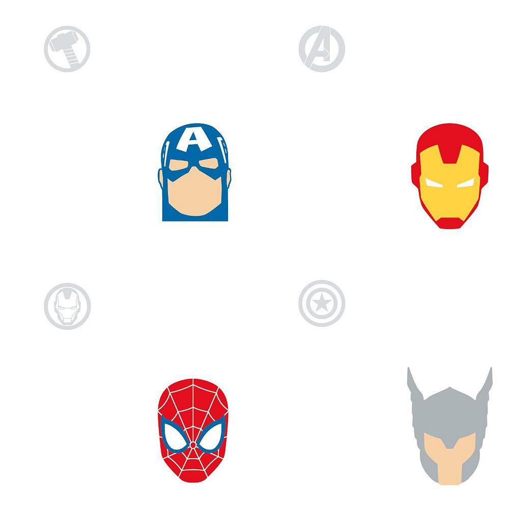 RoomMates Avengers Character Spot Papier Peint Auto-Adhesif