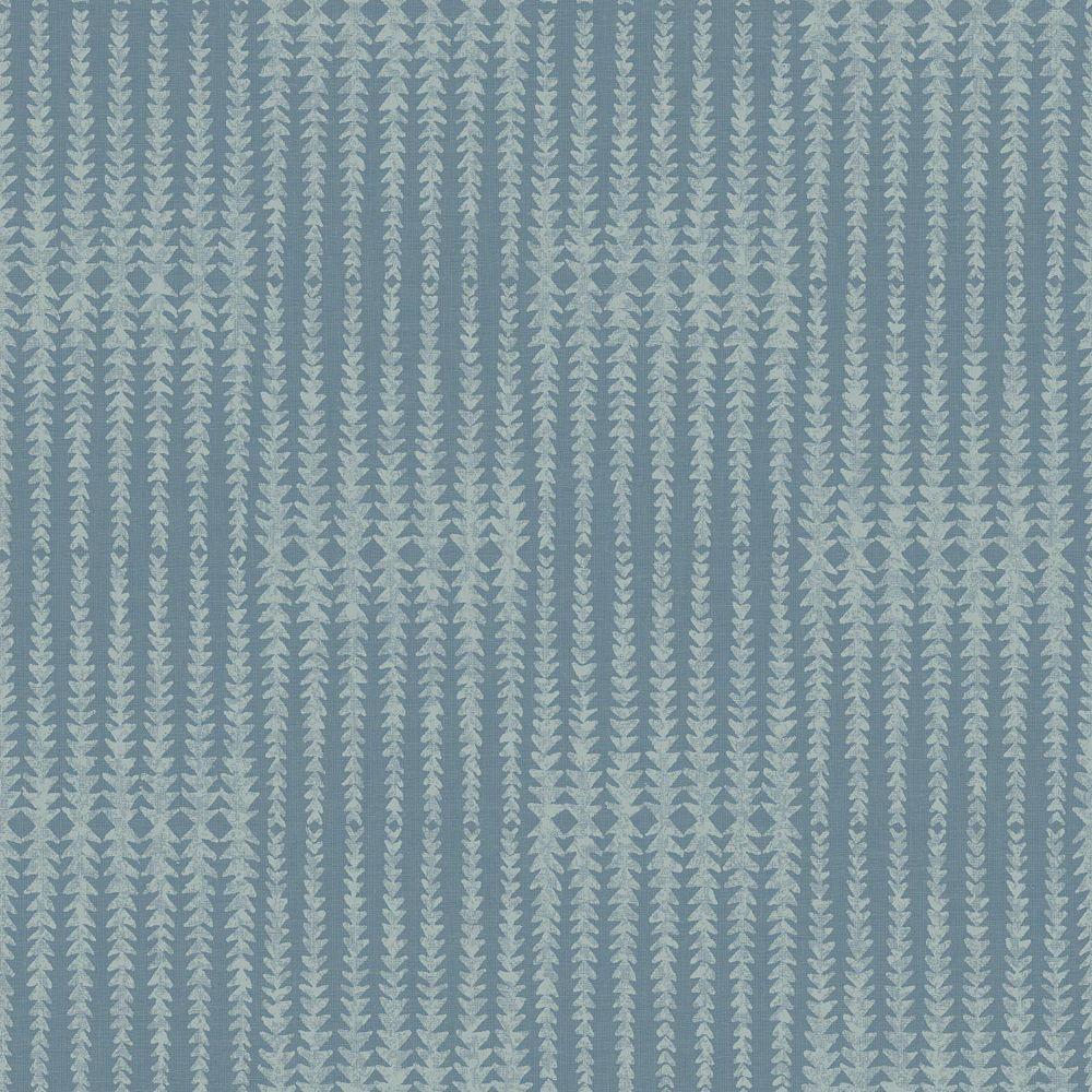 Joanna Gaines Vantage Point Dk Bleu Papier Peint