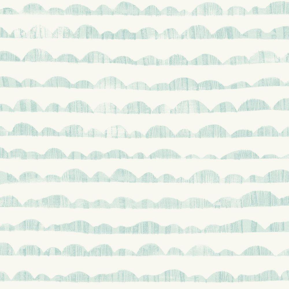 Joanna Gaines Hill & Horizon Blue Wallpaper