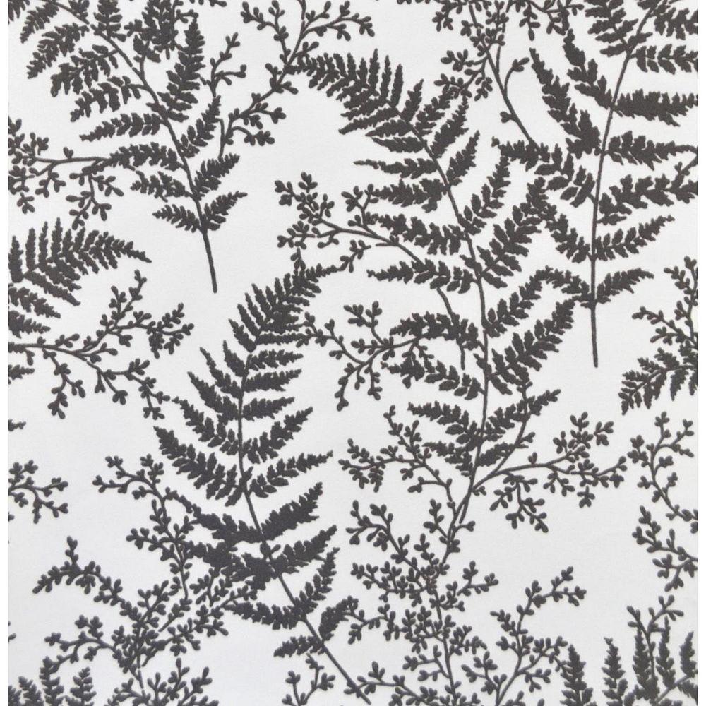 Joanna Gaines Forest Fern Grey Wallpaper