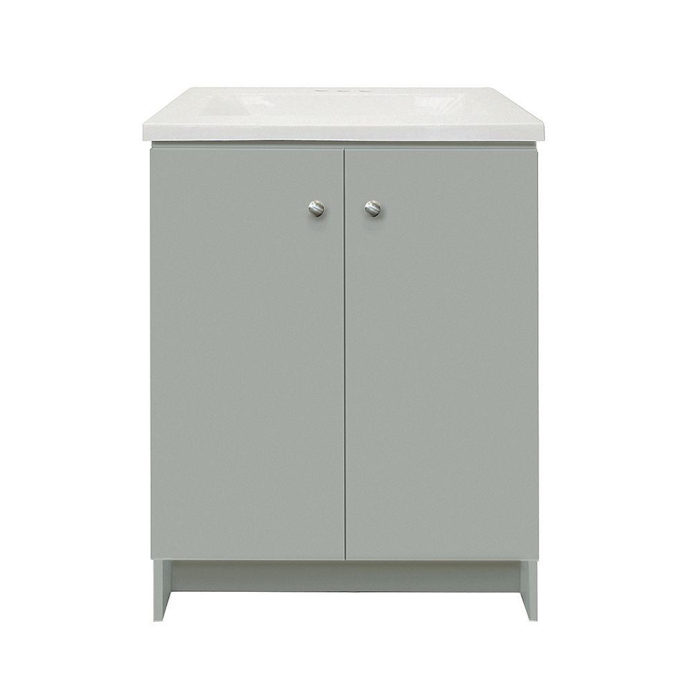 Magick Woods Providence 25-inch W 19-inch D Vanity Ensemble in grey