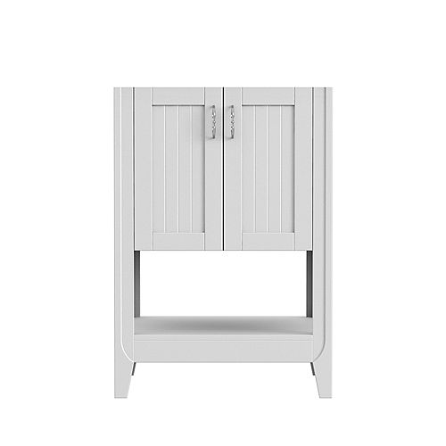 Magick Woods Newhaven 24-inch W 21-inch D Vanity base in Matte White