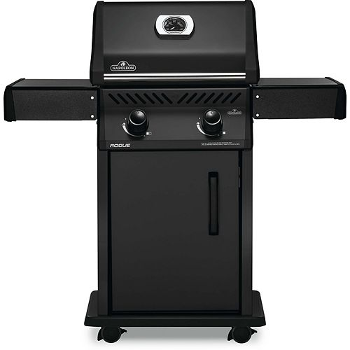 Rogue 365 2-Burner Propane Gas BBQ in Matte Black