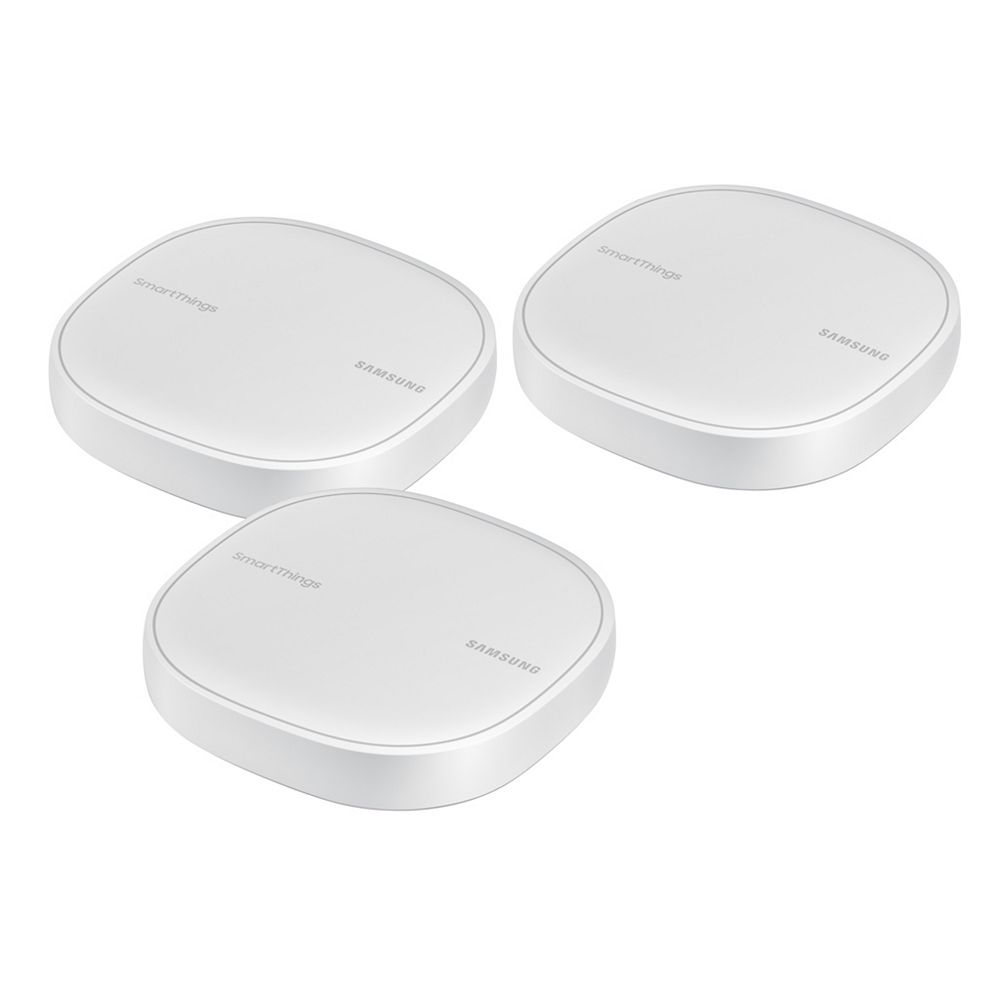 Samsung SmartThings Smart Home Hub and Mesh Wi-Fi Router (3-Pack)