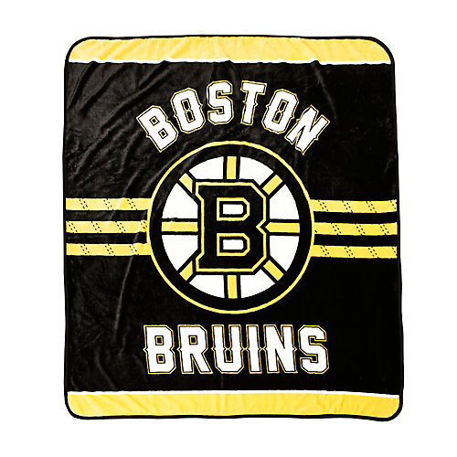 Couverture velours de luxe LNH - Bruins de Boston