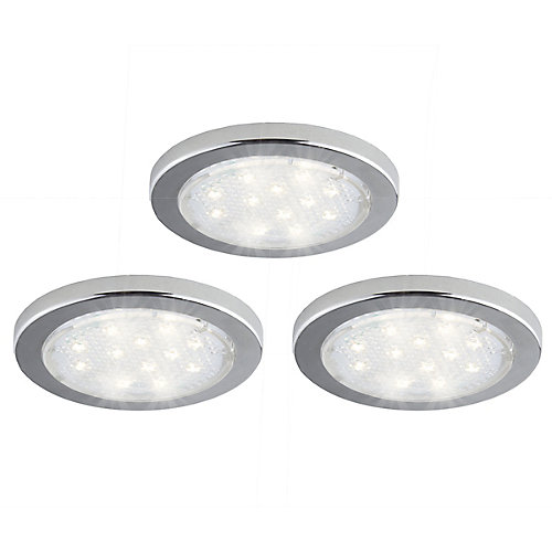 3 Pack Under Cabinet LED Puck