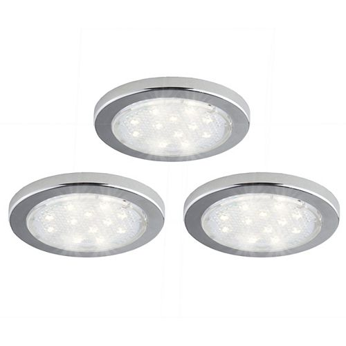 3 Pack Under Cabinet LED Puck