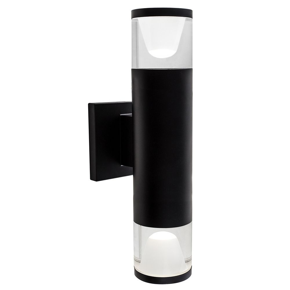 Bazz Luvia LED Outdoor Wall Fixture in Black