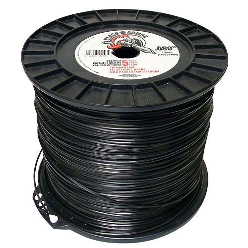 Black Armor Trim Line .080 X 5  lbs.