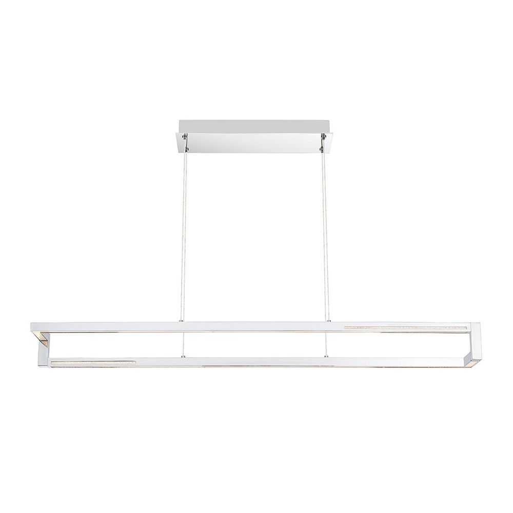 Eurofase Clinton Architectural LED Small Linear Chandelier