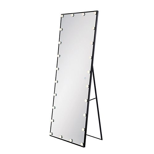 Freestanding Hollywood LED Mirror