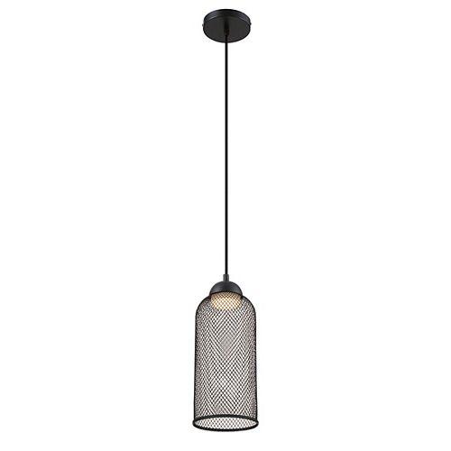 Eurofase Kenmore Wire Mesh LED Light Pendant in Black