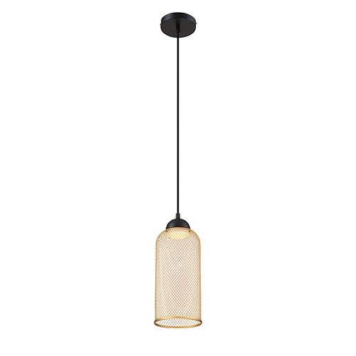 Eurofase Kenmore Wire Mesh LED Light Pendant in Gold