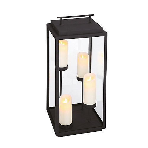 Cathedral Outdoor 4-Light LED Candle Lantern