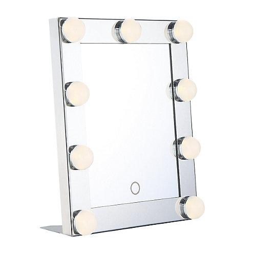 Portable Mini Hollywood LED Mirror