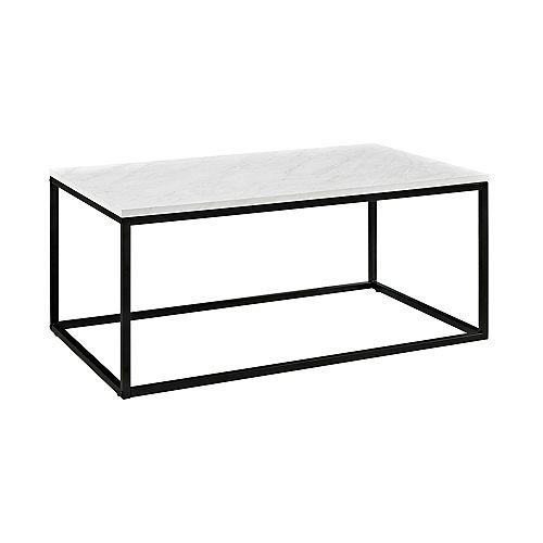 Table basse matériaux mixtes de 106,6cm (42 po) - Mabre