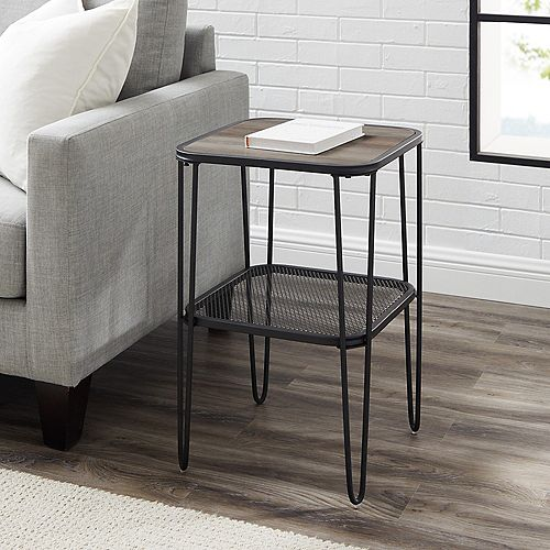 Upholstered Lounge Chair - Blue