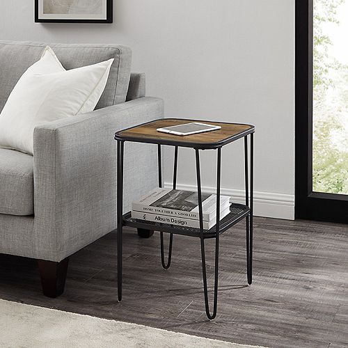 Upholstered Lounge Chair - Charcoal