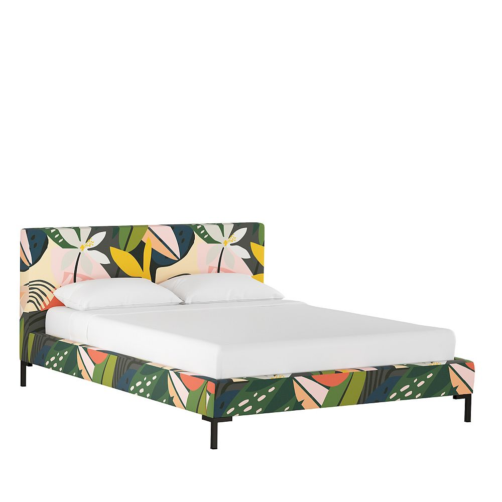 Skyline Furniture Mfg Platform Bed In Ibiza Multi The Home Depot Canada