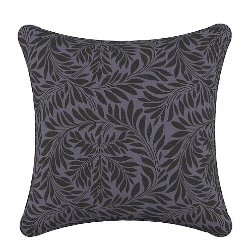 Coussin de 20 x 20 en Georgian Vine Blue Black