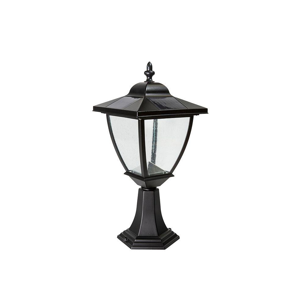 Classy Caps Lampe Solaire Elegante En Aluminium Noir