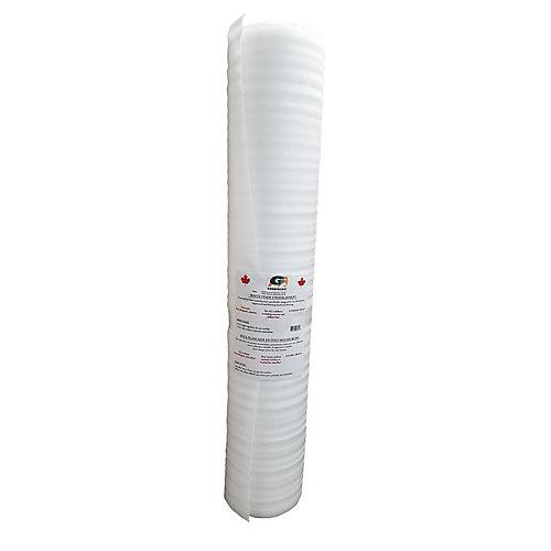 White Foam Underlayment for Laminate Flooring (200 sq. ft.)