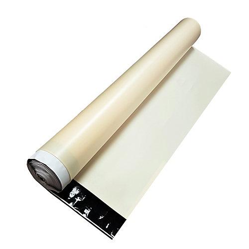 Premium Quiet Tan Underlayment with Vapour Guard for Laminate Flooring (100 sq. ft.)