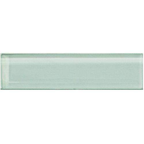Carreau pour murs Bottle, 1 9/10 po x 7 4/5 po, verre, vert