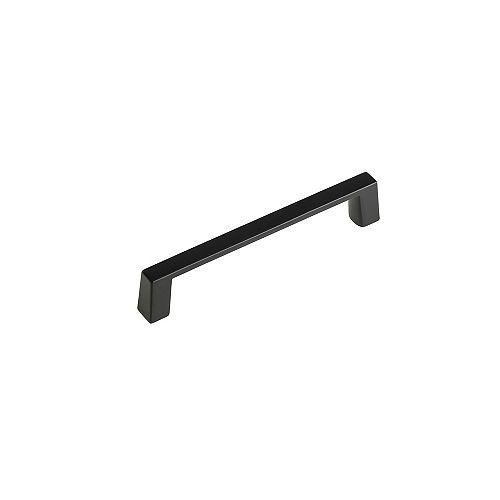 Richelieu Contemporary Metal Pull 4-Inch (102 mm) CtoC - Matte Black - Eglinton Collection