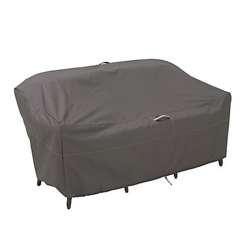 Ravenna Patio Loveseat Cover - Outdoor Furniture Cover with Water Resistant Fabric, Large
