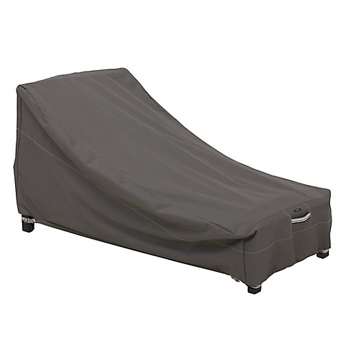 Ravenna Patio Day Chaise Lounge Cover - Outdoor Furniture Cover with Water Resistant Fabric, Medium