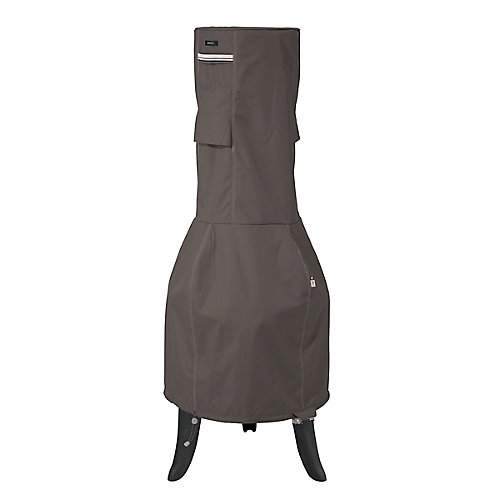 Ravenna Outdoor Chiminea Cover - Outdoor Cover with Durable and Water Resistant Fabric, Medium