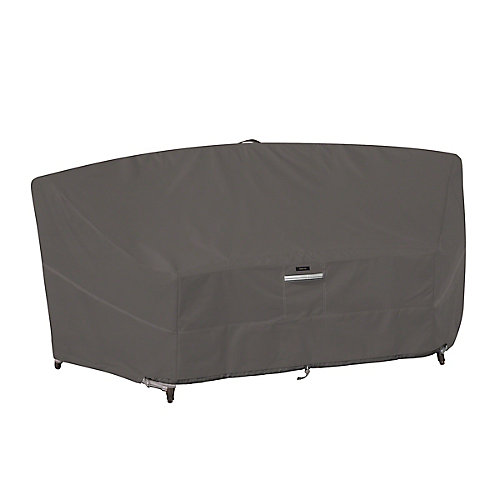 Ravenna Curved Modular Sectional Sofa Cover - Outdoor Furniture Cover with Water Resistant Fabric