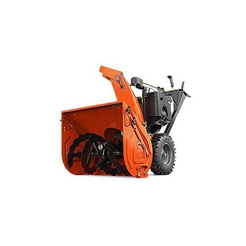 Professionnel de 28pouces, à deux étapes, moteur de 420cc Ariens AX à démarrage électrique à 120V