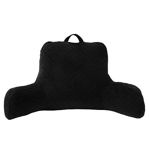 Appui-Dos matelassé, noir, 76,2 cm x 40,6 cm x 45,7 cm