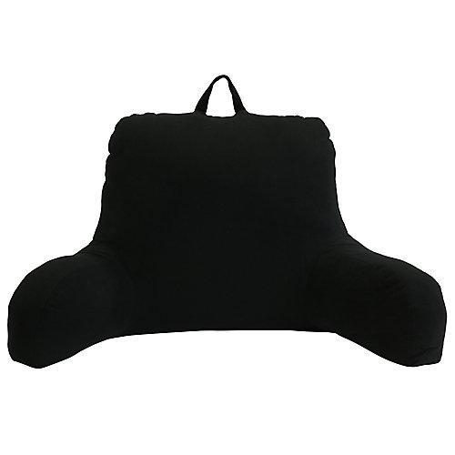 Appui-dos peluche, noir, 61,0 cm x 48,3 cm x 53,3 cm