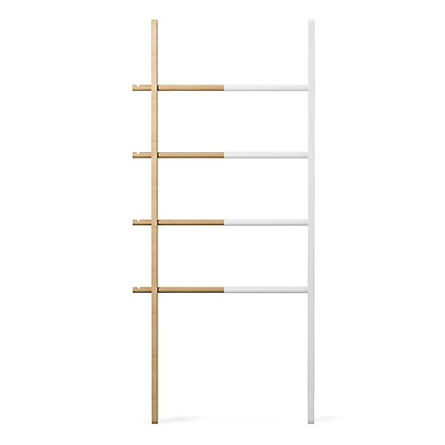 Hub Ladder White/Natural