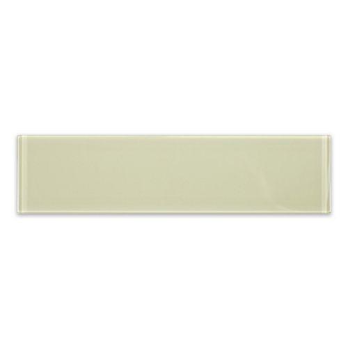 Carreau pour murs Riva, 3 po x 12 po, verre, toscan beige