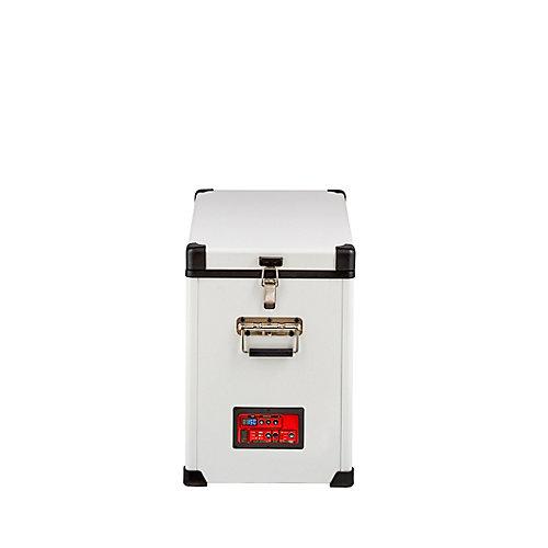 1.6 pi. Cu. 45L Réfrigérateur-Congélateurs compacts portatif C.A./C.C. compresseur Danfoss/Secop