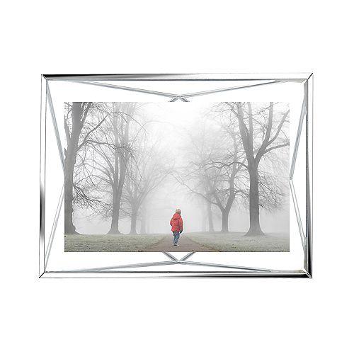 Prisma. Cadre Photo Filaire En Métal Entre Deux-Verres Prisma.  Pour 1 Photo 10X15Cm