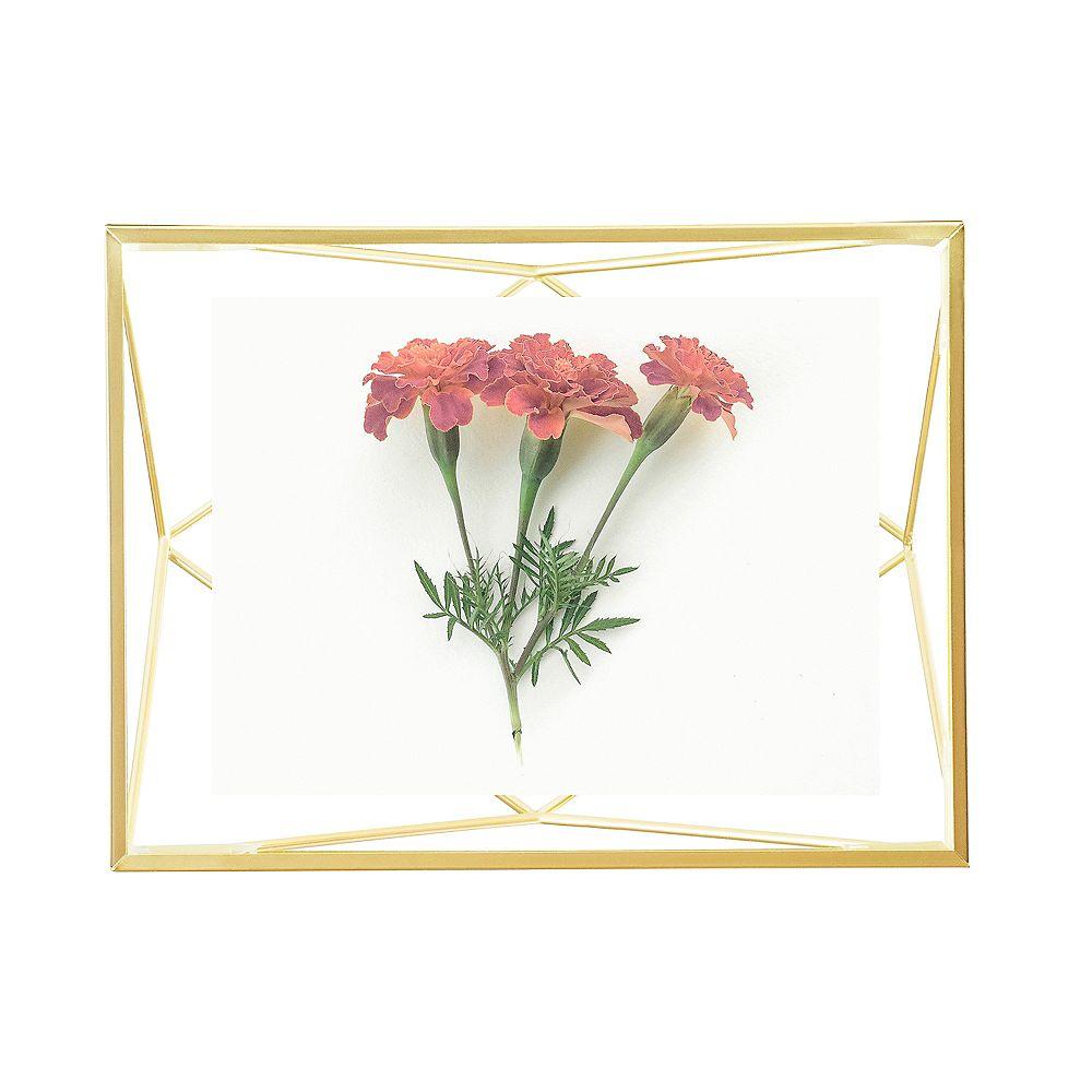 Umbra Prisma. Cadre Photo Filaire En Métal Entre Deux-Verres Prisma.  Pour 1 Photo 10X15Cm