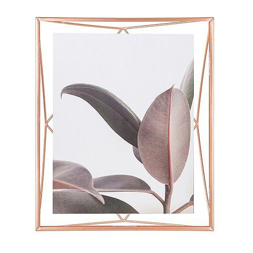 Prisma. Cadre Photo Filaire En Métal Entre Deux-Verres  Pour 1 Photo 20X25Cm