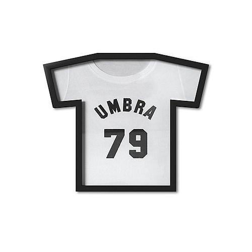 T-Frame. Cadre Pour Tee Shirt De Collection T-Frame. Plastique Moulé Noir Et Plexiglass.