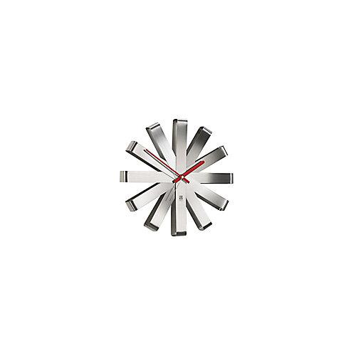 Ribbon Clock. Horloge Murale Silencieuse Ribbon