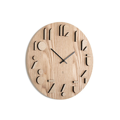 Shadow Clock. Horloge Murale Silencieuse Shadow