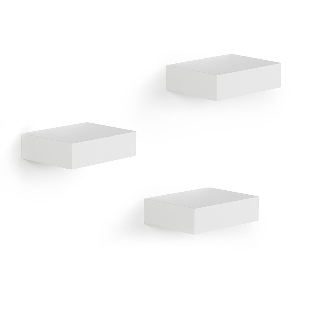 Umbra Showcase Shelves White, Set of 3