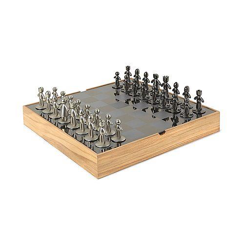 Buddy Chess Set Natural