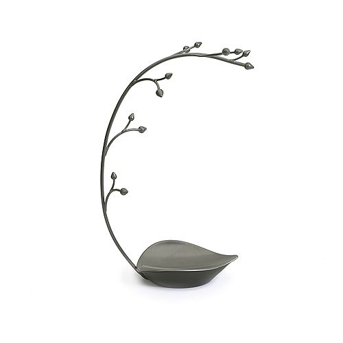 Orchid Jewelry Stand Gun Metal