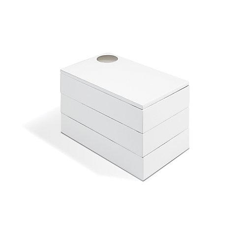 Spindle Storage Box White