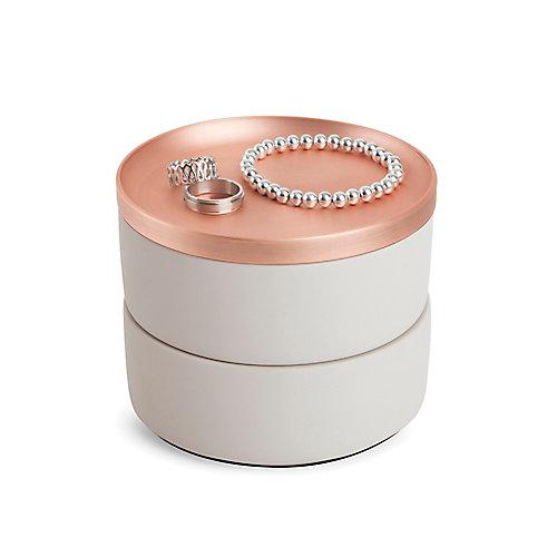 Tesora Box Concrete/Copper